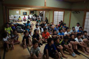 2015年8月 合宿(中津川市)
