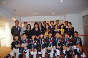 2015年2月 第10期生卒団式